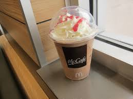 review mcdonald s chocolate covered strawberry frappe