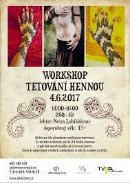 Workshop Tetování Hennou Výtvarný Atelier Tvor