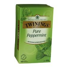 twinings pure peppermint herbal infusionstea bags 40 pack twinings pure peppermint herbal infusionstea bags 40 pack 80g