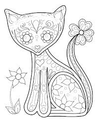 Inspirational Day Of The Dead Coloring Pages For Adults And Day Of