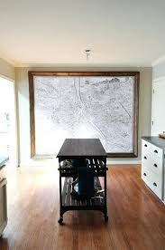 web giant treasure map wall decoration mural giant framed wall map hows that for a statement piece