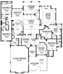 Single story 2700 sq ft house plans