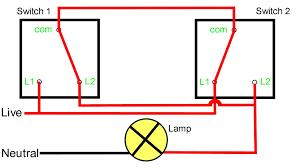 2 way switch wiring diagram schematics baudetails info two way switching explained