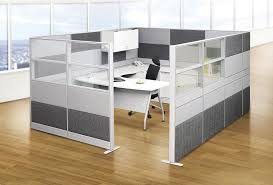 modern office partition. Modern Office Partitions. : Partition Design Ideas With A White Computer Corner Table