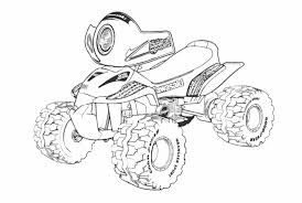 Interactive online coloring pages for kids to color and print online. Quad Atv 143190 Transportation Printable Coloring Pages