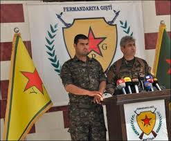 Image result for The Kurdish-led People's Protection Units (YPG LOGO