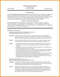 Hr Manager Resume Sample Perfect Human Resources Examples In