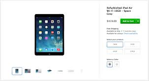 apple refurbished ipad. admittedly the term \u0027refurbished\u0027 is usually a red flag for consumers, but it\u0027s worth noting that apple\u0027s program isn\u0027s like what you see on ebay or at apple refurbished ipad