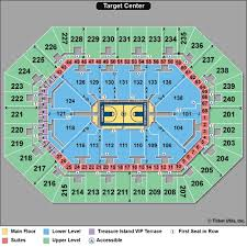 Target Center Seating Chart 50 True To Life Timberwolves Seating Chart Rows