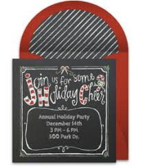 Free Holiday Party Templates Christmas Online Invitations Punchbowl