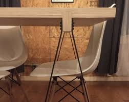 Sawhorse table legs Collapsible Sawhorse Dining Table Etsy Sawhorse Table Leg Etsy