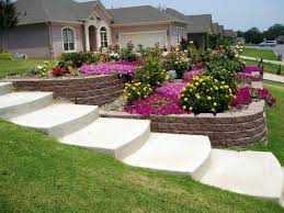Small Picture Landscaping on a slope How to make a beautiful hillside garden