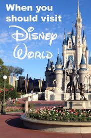when you should visit disney world l disney world crowd calendar disneyworldcrowds disneyworldplanning