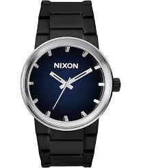 nixon watches get shipping at zumiez bp nixon cannon ombre black blue watch
