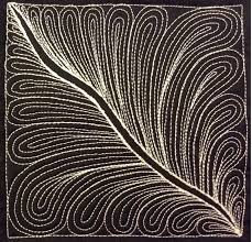 The Free Motion Quilting Project: 61. Learn how to Quilt Noodle ... & free motion quilting | Leah Day Adamdwight.com