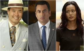 White collar tv show asian woman
