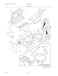 Frigidaire ice maker parts diagram i delightful photo skewred