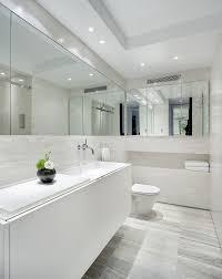 simple white bathrooms. Simple, Sleak White Bathroom. Love The Wrap Simple Bathrooms R