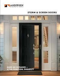 andersen screen storm doors c l ward