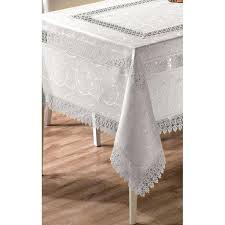 white lace tablecloth 60 inch round