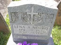 Lena A Norris (1905-1930) - Find A Grave Memorial