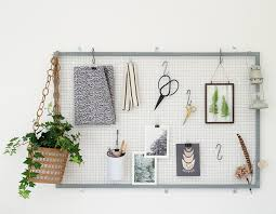 roost make easy diy wire noticeboard tutorial roost blog uk homes