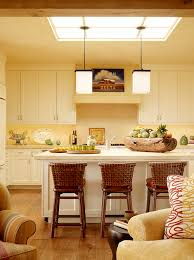 is that a skylight or a fluorescent fixture and how are the pendant lights installed in either case