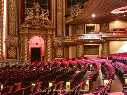 Wang Theatre Tour Theater Shows Music Hall Boston