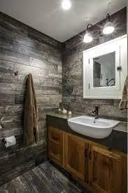 rustic modern bathroom ideas. HGTV Invites You To See This Rustic Modern Bathroom With Tile Walls Made Look Like Weathered Lumber | Unique Floors Pinterest Modern, Ideas A