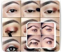 eyebrows makeup tutorial 2018 poster