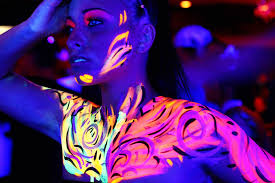black light art party weekend oakland