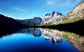 cool mountain backgrounds. ---mountain-lake-at-evening-10644 Cool Mountain Backgrounds \