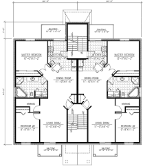 Flexible Two Family House Custom Family House Plans