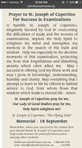 best ideas about prayer for students prayer for prayer to st joseph of cupertino to pass tests exams