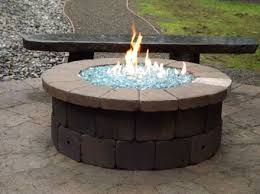 awesome propane fire pit glass rock designing collection great clearance interior room table kit costco canada