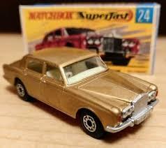 Matchbox Superfast Lesney 24 Rolls Royce Silver Shadow 1969custom