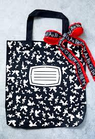 diy composition book tote bag