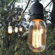 Decorative Outdoor String Lights Extraordinary Decorative Outdoor String Lights Wonder If The Bulb Type Makes It A