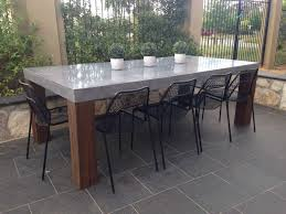 diy concrete table top on a budget also retro concrete patio dining table how to make