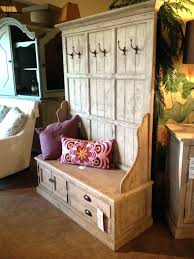 antique hall tree bench entryway with storage coat rack images about