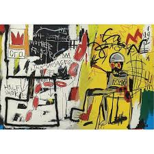 l jean michel basquiat 1960 1988 untitled electric chair acrylic