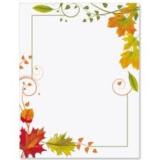 Word Border Templates Free Page Borders Templates For Microsoft Word Fall Freshness Border With