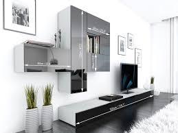 Modern Living Room Furniture Uk Tv Unit Storage Living Room Modern Wall Units High Gloss