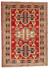 pak kazak tribal design rug