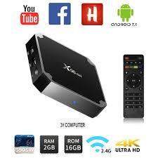 Android Tivi TV Box X96 Mini Pro CPU S905W Ram 2Gb Rom 16Gb ANROID 7.1 Mới