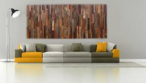 interior large wooden wall art modern hand made wood of old reclaimed barnwood diffe inside
