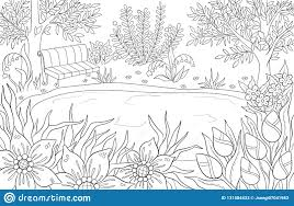 Coloring Page For Adult And Kids Coloring Book Or Bullet Journal