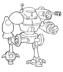 Kleurplaten Robot