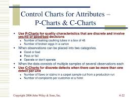 Difference Between C Chart And P Chart Statistical Process Control Ppt Download
