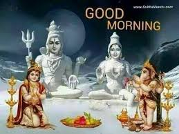 Image result for good morning images shiv parvati